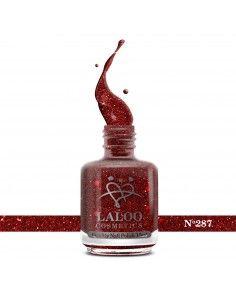 No.287 Κόκκινο glitter ψιλή...