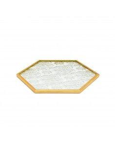 Nail Art Glass Dish Χρυσό...