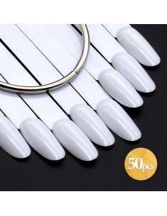 Tips Oval Λευκά