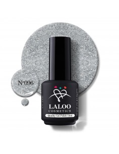 No.096 Ασημί glitter (ψιλός...