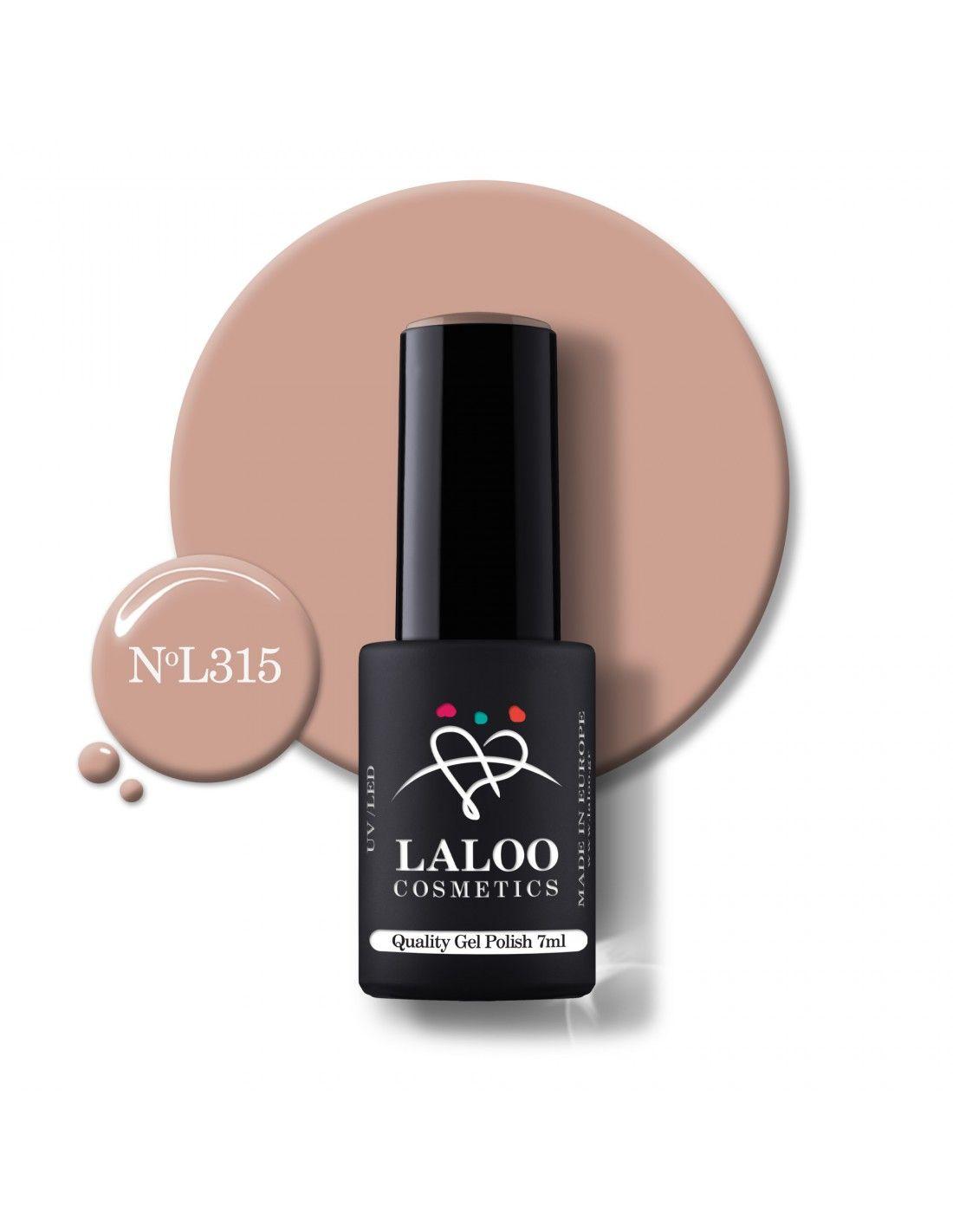 398 Μπεζ Nude   Ημιμόνιμο βερνίκι 15ml   Laloo Cosmetics