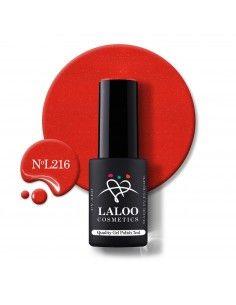 L216 Shimmering Red   Gel...