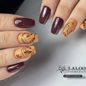 Full 𝓐𝓾𝓽𝓾𝓶𝓷 mode ON!! 🍂🍁 Laloo No. 414 & 462 by @nailartist_despoina  . #laloo #laloo_team #laloonails #nailporn #nailart #nailpolish #nailstagram #nails💅 #nailteck