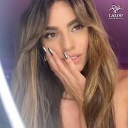 Dazzling @ilianapapageorgiou in Laloo Cosmetics Titanium Color Mirror Powder No.1 🚀🤟  #ILIANAxLALOO #IlianaLovesLaloo #laloocosmetics #laloonails #nailgang @kostadina_tsihlas