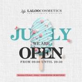 We are open!  Κατόπιν πρότασης αρκετών φίλων μας αποφασίσαμε για τον μήνα Ιούνιο και Ιούλιο το showroom μας στην Σαλαμίνος 3 να έχει νεο ωράριο λειτουργίας! ⏰Δευτέρα - Παρασκευή , 09:00-20:30 και Σάββατο 10:00-15:00  Φυσικά μπορείτε να ψωνίζετε 24 ώρες το 24ωρο απο την σελίδα μας https://laloo.gr  Soon....νέες εκπλήξεις ;)