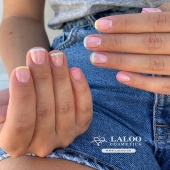 What's more beautiful that the combination of pastels and french, for summer??!! 💦 Manicure by @nailartist_despoina ❤️ . #laloo_team #laloonails #laloocosmetics #laloo #nailporn #nailart #trends