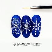 Όταν το πνεύμα των εορτών συναντά το πνεύμα της τέχνης...@laloo_cosmetics  Η @rania_tzima ξεκίνησε τα δικά της Χριστούγεννα 🤶🙏  💪Let's start  #laloonails#laloocosmetics #laloo#nailporn #nailart
