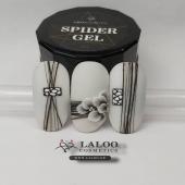 New Laloo Spider Gel 🕸️🕷️ Check it out!!  . @rania_tzima 💯💯 . #laloonails #laloo #laloocosmetics #nailporn #nailart #nailpolish #instanails #nailstagram #newproduct