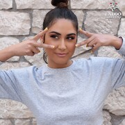 Go crazy, #laloogirls 💛  @elena_mariposa 's go-to nails 👉 155  #laloonails #laloocosmetics