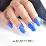 Καλό μήνα με το πιο όμορφο γλυκό μπλε 💙 Ποια είναι η δική σας αγαπημένη μπλε απόχρωση;  #laloocosmetics #laloonails