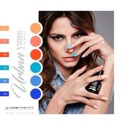 Sexy in color is an attitude 💙🧡  #ILIANAxLALOO #IlianaLovesLaloo #LalooUrbanVibes #laloocosmetics #laloonails