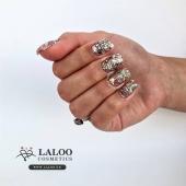 New Laloo Shiny Effect .. 💎 Coming very Soon..!! . This is no.6 by @agapi_sidiropoulou  Check www.laloo.gr!! . . #laloonails #laloo #laloocosmetics #nailart #nailporn #glitternails