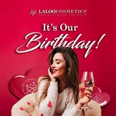 Love is perhaps the most important human emotion! ❤️  Happy Birthday @laloo_cosmetics 🎂💅  Happy Valentines Day 🌹 . #laloonails #laloobirthday #happyvalentinesday #loveforlove