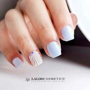 Mermaid Vibes 🧜♀️💙😍  👏 @nails.fofi  #laloonails #laloocosmetics