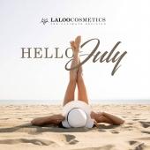 Hello July!! 🍦 Καλό μήνα σε όλους και όλες!!  Με υπέροχη διάθεση, πολλές δημιουργίες και άπλετη ενέργεια για εξέλιξη!! 💯 Είμαστε αεικίνητοι!!  Είσαι μαζί μας;;❤️❤️ . #laloo_team #laloonails #laloo #laloocosmetics #nailart #summer2020