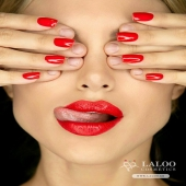 We are her passion, and she is ours!! ❤️ @alexandra__panagiotarou on fire with Laloo Cosmetics No. 149 !! 🔥🔥 . #laloonails #laloo #laloocosmetics #laloomania #fire #passion #instanails #womanonfire #redcolor #nailporn #nailstagram
