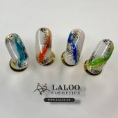 Καλό μήνα με μια δημιουργία της μοναδικής @nailartist_despoina με τα ολοκαίνουργια Laloo Glass Colors!!  . #laloo #laloocosmetics #laloo_team #nails #nailart #nailporn #nailstagram