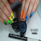 Με τα νέα Contour Paint Gels by Laloo Cosmetics μπορείς να περάσεις στο επόμενο επίπεδο τις δημιουργίες σου!! 💯💅 Try them now!!  . Art by @evis_nails 👌🏻❣️ . #alwaysinfront #laloo_team #laloonails #laloocosmetics #nailart