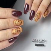 Full 𝓐𝓾𝓽𝓾𝓶𝓷 mode ON!! 🍂🍁 Laloo No. 414 & 462 by @nailartist_despoina  . #laloo #laloo_team #laloonails #nailporn #nailart #nailpolish #nailstagram #nails💅 #nailteck