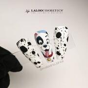 Οι αγαπημένοι μας παιδικοί ήρωες στα νύχια μας! Πόσοι είδατε τη νέα ταινία και σας ενέπνευσε; 🖤🤍   #laloonails #laloocosmetics