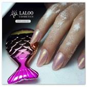 Η @elenipsarom δε φοβάται να παίξει με τις σκόνες!! 💎💎 Έτσι συνδύασε την Dream Dust no1 με τη νέα μοναδική Mermaid Effect για να δώσει το σικάτο αυτό αποτέλεσμα!!! ❣️ Δοκίμασέ το κι εσύ!! 😉 . #laloonails #laloo_team #laloocosmetics #laloo #nailporn #nailart #nailpolish