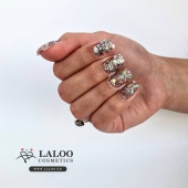 New Laloo Shiny Effect .. 💎 Coming very Soon..!! . This is no.6 by @agapi_sidiropoulou  Check www.laloo.gr!! . . #laloonails #laloo #laloocosmetics #nailart #nailporn #glitternails