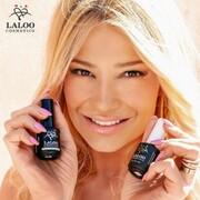 @fayskorda 's nails always on fleek!  Το χρώμα που επέλεξε είναι το Ν.285 Ροζ έντονο ψυχρό και από πάνω Star Top ⭐️⭐️⭐️  #laloonails #laloocosmetics