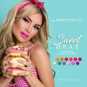 It's getting hot out there 🌡️  Η νέα μας συλλογή Sweet Heat  αποτελείται από 12 νέα έντονα χρώματα που μας ταξιδεύουν σε εξωτικά μέρη με δροσερά cocktails 🍹 και λαχταριστές πολύχρωμες γρανίτες δίπλα στη θάλασσα 🌊  #SweetHeat #laloocosmetics #laloonails
