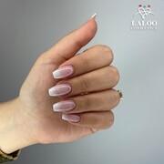 Υπέροχο κι αξεπέραστο το babyboomer όλες τις εποχές και για όλες τις περιστάσεις. 💅🏻 Συμφωνείτε;   👉 No.134, Contour Arctic White & Ombre Sponge !! 🔥  📸 @rania_tzima   #laloonails ##laloonails #laloocosmetics